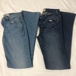 Hollister Boot Cut Jeans Size 9L